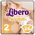 Libero подгузники Newborn 2 (3-6 кг) 26 шт.