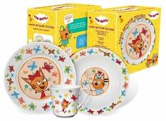 Набор для завтрака PRIORITY Три кота 3 предмета