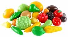 Набор продуктов Пластмастер Овощи - фрукты 21050