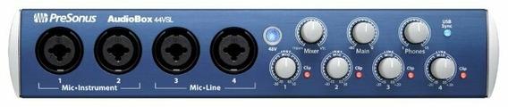 Внешняя звуковая карта PreSonus AudioBox 44VSL