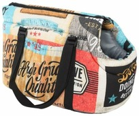 Переноска-сумка для кошек и собак PRIDE Трэвел Кантри 30х20х20 см