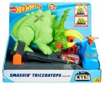 Трек Hot Wheels Smashin Triceratops GBF97