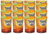 Корм для кошек Cat Lunch Кусочки в соусе с говядиной