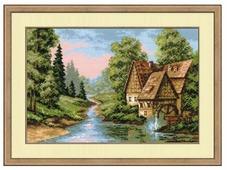 Риолис Набор для вышивания крестом Мельница 38 х 26 см (1097)