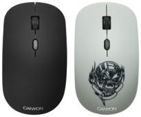 Мышь Canyon CND-CMSW401MC Metallica White USB
