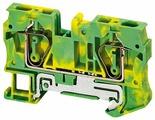 Клеммный блок заземляющий Schneider Electric NSYTRR62PE