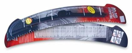 Щетка стеклоочистителя бескаркасная AVS Basic Line BL-22 550 мм