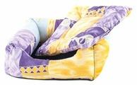 Лежак для кошек, для собак Дарэлл квадратный пухлый (9113) 51х51х17 см