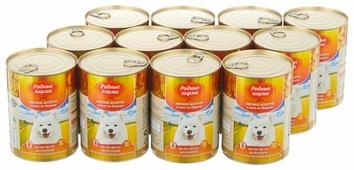 Корм для собак Родные корма Мясное ассорти в желе по-боярски