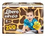 Libero трусики Up & Go Zoo Collection 4 (7-11 кг) 32 шт.
