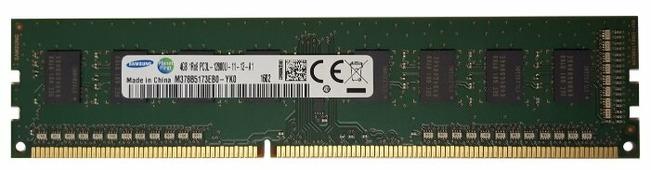 Оперативная память 4 ГБ 1 шт. Samsung DDR3 1600 DIMM 4Gb (M378B5173EB0-YK0)