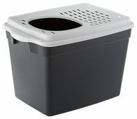 Туалет-домик для кошек Ferplast Jumpy 57.5х38.8х39 см