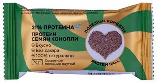 Протеиновый батончик Jump Healthy Ball Protein Семена конопли, 28 г
