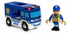 Игровой набор Brio Полицейский фургон 33825