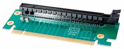 Переходник ESPADA Riser 2U PCIe x16 90° (EPCIE162U)