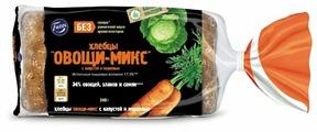 Fazer Хлебцы Овощи-микс пшеничные с капустой и морковью в нарезке 240 г