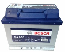 Автомобильные аккумуляторы Bosch S4 006 (560127054) 60 А/ч