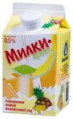 Сывороточный напиток Ярмолпрод Милкидримс с соком ананаса 0.5%, 500 г