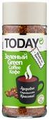 Кофе растворимый Today Green, стеклянная банка