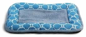 Лежак для собак Triol Лазурный берег прямоугольный низкий борт S 55х36х5 см
