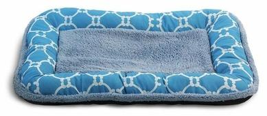 Лежак для кошек, для собак Triol Лазурный берег прямоугольный низкий борт S (31921011) 55х36х5 см