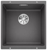 Врезная кухонная мойка Blanco Subline 400-U Silgranit PuraDur 46х43см искусственный гранит