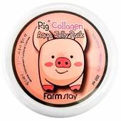 Farmstay увлажняющая маска-желе со свиным коллагеном