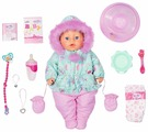 Интерактивная кукла Zapf Creation Baby Born Soft Touch Зимняя серия, 43 см, 827-529