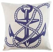 Чехол для подушки Pastel Якорь 45х45 см (1315527)