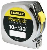 Рулетка STANLEY POWERLOCK 0-33-443 25 мм x 10 м