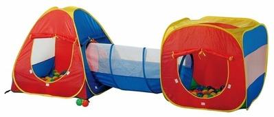 Палатка Calida Конус + квадрат + туннель 629S