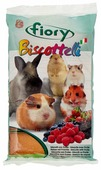 Лакомство для грызунов Fiory Biscottelli с ягодами