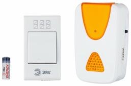 Звонок с кнопкой ЭРА A02 электронный беспроводной (количество мелодий: 32)