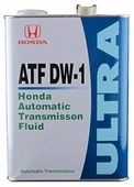 Трансмиссионное масло Honda Ultra ATF DW-1
