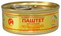 Паштет Йошкар-Олинский мясокомбинат Печеночный со сливочным маслом 100 г