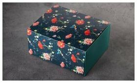 Коробка подарочная ВкусВилл женская с обечайкой