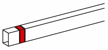 Соединение/накладка на стык для настенного кабель-канала Legrand 638106