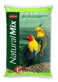Padovan корм Naturalmix Parrocchetti для средних попугаев