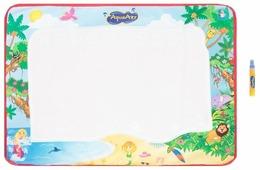 1 TOY Коврик AquaArt для рисования с водным маркером (розовый фон) Т59441