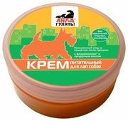 Крем Айда гулять! питательный для собак для лап 120 гр