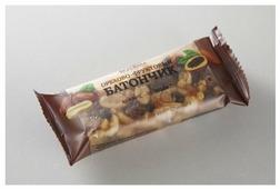 Ореховый батончик ВкусВилл без сахара Арахис-Шоколад, 35 г