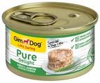 Корм для собак GimDog Pure Delight курица, ягненок с рисом 85г (для мелких пород)