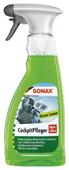 SONAX Очиститель полироль для пластика салона автомобиля Зеленый лимон 358241, 0.5 л