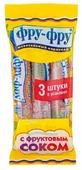 Жевательный мармелад Фру-Фру трубочка с фруктовым соком (3 шт. по 35 г)