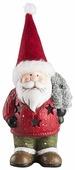 Фигурка NEON-NIGHT Дед мороз с елкой 14 см