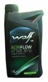 Масло для садовой техники Wolf Agriflow 4T SAE 30 SJ 1 л