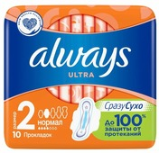Always прокладки Ultra Normal Plus