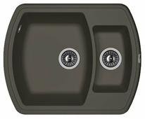 Врезная кухонная мойка FLORENTINA Нире-630К FS 63х51см искусственный гранит