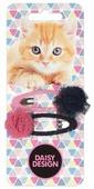 Заколка клик-клак Daisy Design Kittens. Марго 2 шт.