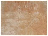Коврик-шкура HWIT CO. из натуральной овчины четырехшкурная РОЗОВАЯ